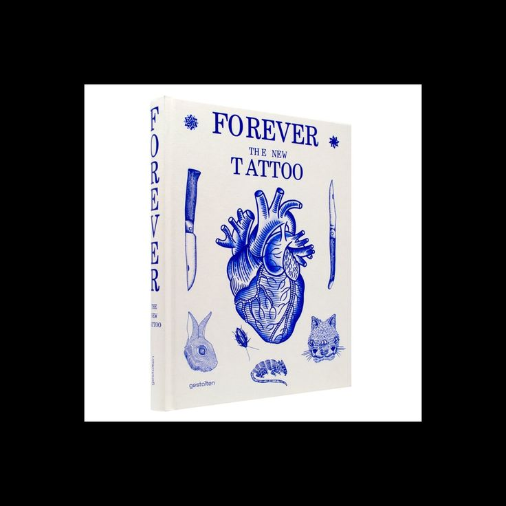 Forever : The New Tattoo: Tattoos now have mass appeal, but beyond the mainstream, a new tattoo underground has developed. It is as innovative, diverse, inspiring, and controversial as the motifs it creates. FOREVER showcases key tattoo innovators and a broad range of fresh styles. The book explores how today's tattoo culture is strongly influenced by art, fashion, and contemporary visual culture as well as traditional tattoo art-often in surprising ways. Price: 45 €