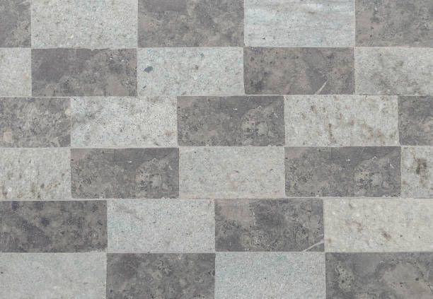 Gray Travertine Floor Tile Texture