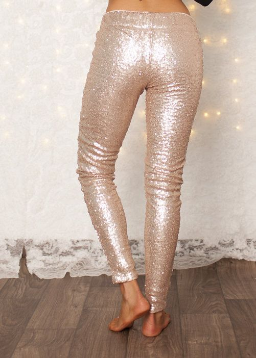 sequin leggings. need.