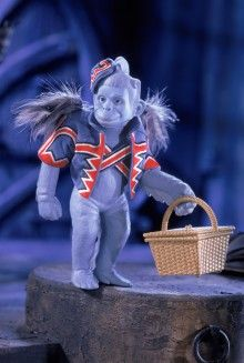 My favorite part of the movie! I loved the flying monkeys
