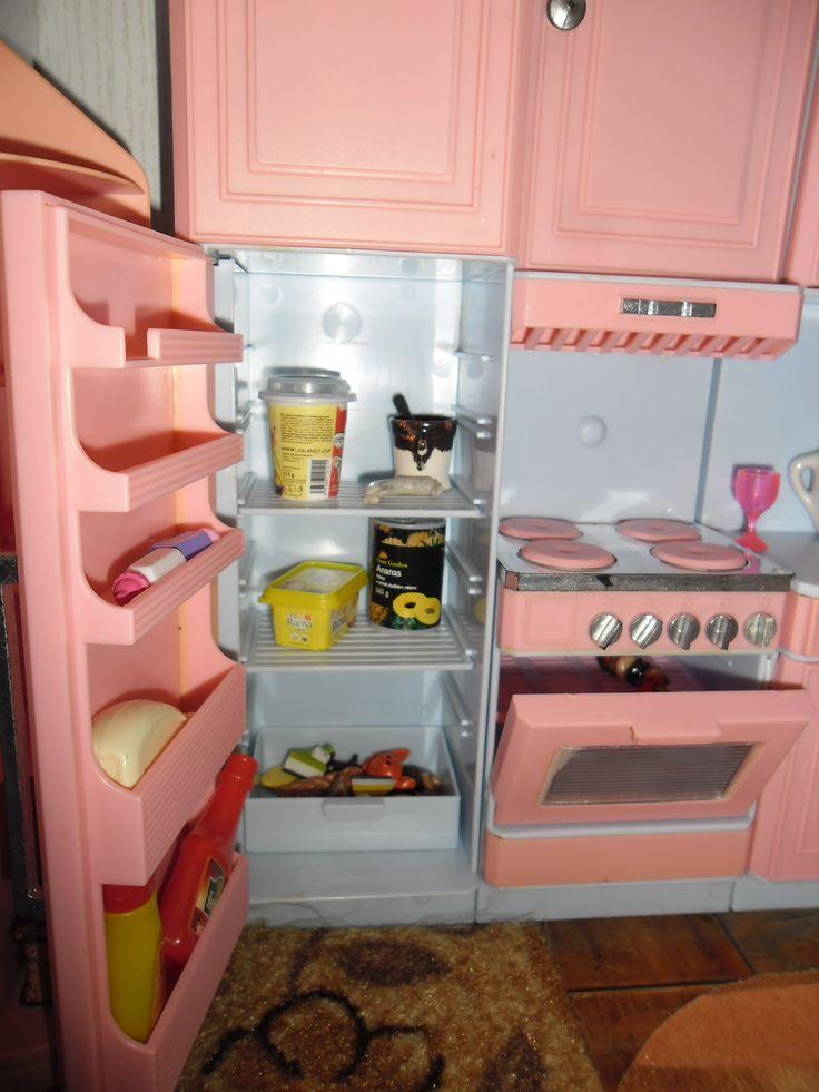 vybavená lednice...