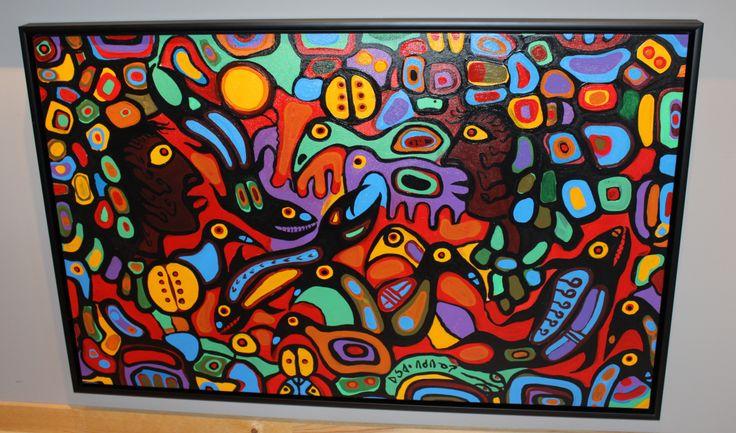 Norval Morrisseau Original Painting