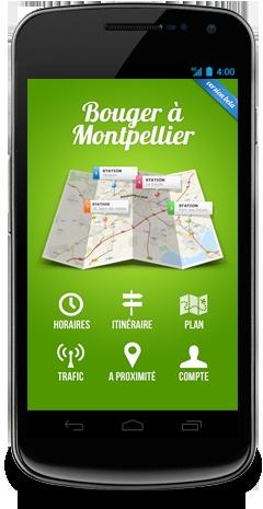 BAM, l'application mobile qui va vous faire bouger à Montpellier !