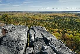 View from the Cup and Saucer Trail Manitoulin Island, Ontario, Canada