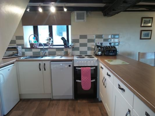 Great kitchen in Wethercote Farm cottage, available to rent including off peak short stays. Check www.iknow-yorkshire.co.uk for details
