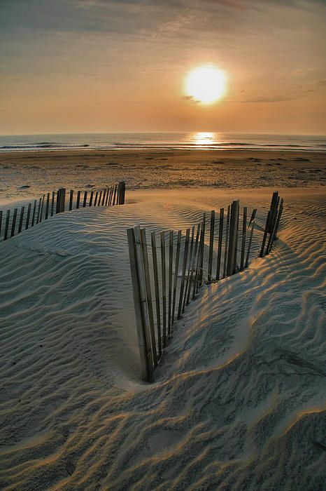 Sunrise Over Hatteras by Steven Ainsworth
