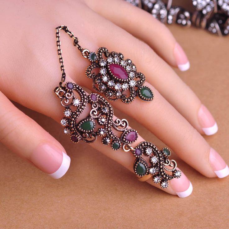 Enya Gorgeous Turkish Ring Set