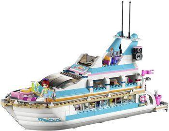 Lego Friends - Paseo en yate con los delfines (41015): precios   Barco Lego   Lego - Comparativa en idealo.es