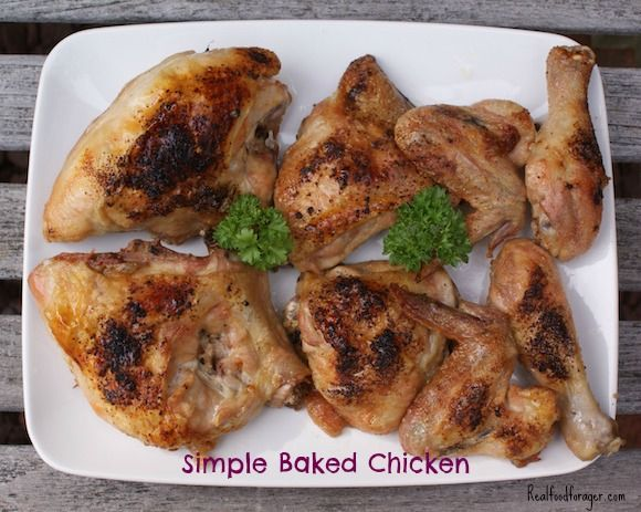 Recipe: Simple Baked Chicken post image
