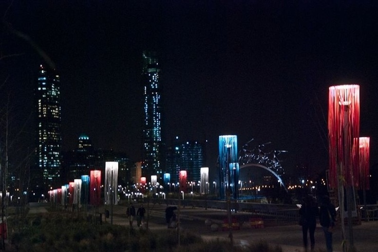 Parque bicentenario, Vitacura, santiago de chile!!!