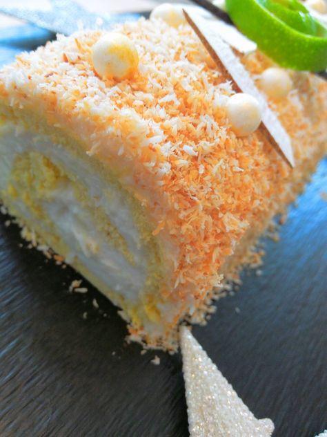 Une recette de bûche originale inspirée du traditionnel gâteau Mont-blanc antillais. Les amateurs de coco vont être ravis ! Pour une bûche de 8 parts 40cl de lait de coco 1 petite boite de lait concentré sucré (397g) 2 càs de maïzena 1 gousse de vanille zeste d'un citron vert une poignée de noix de...