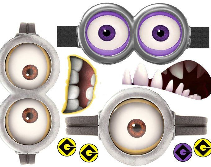 picture about Minions Printable Eyes named MINION Minion Video clip Minion Eyes Instantaneous Down load Social gathering