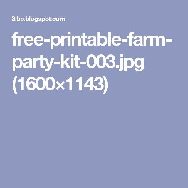 free-printable-farm-party-kit-003.jpg (1600×1143)
