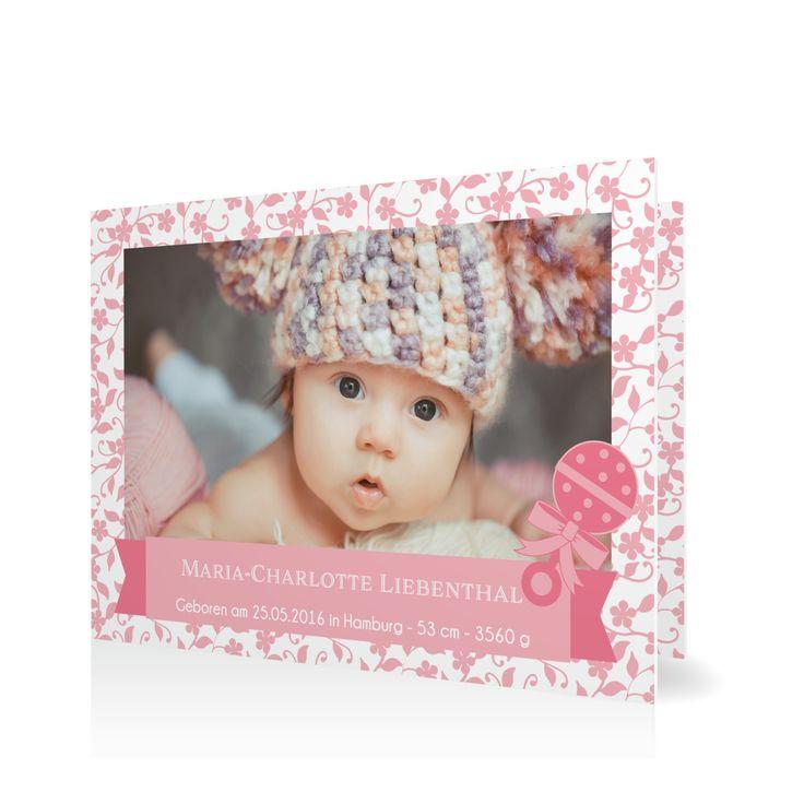 31 best geburtskarten images on pinterest babies baby for Vintage geburtskarten