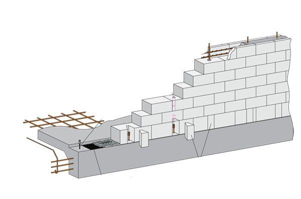 superbuild co nz concrete block wall construction