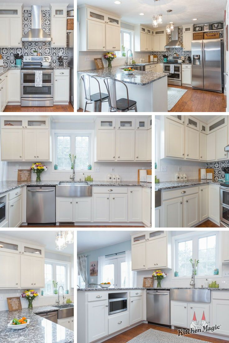A Taste Of New England Gives Kitchen Flavor White Kitchen Design Kitchen Design Kitchen Remodel