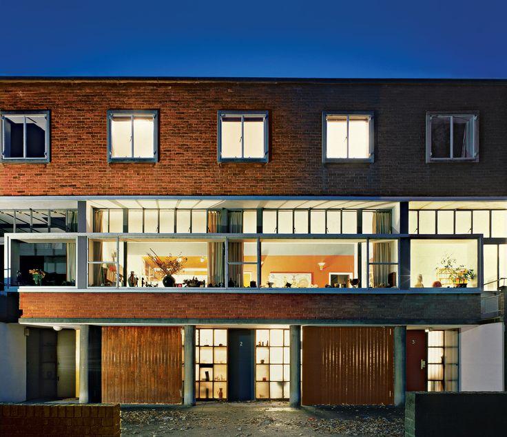 Modernistyczny dom przy Willow Road, zaprojektowany przez Erno Goldfingera. Fot. Andreas von Einsiedel, Dennis Gilbert, John Hammond/National Trust Images, Alamy/Be&W #WielkaBrytania #Anglia #architektura #angielska #Europa #europejska #willa #dom #luksusowy #rezydencje