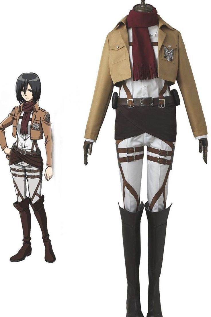 Anime Attack on Titan Training Corps Mikasa Ackerman ...