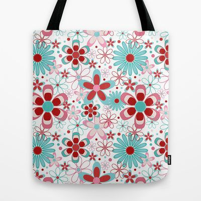 Springtime Tote Bag by designed to a T - $22.00