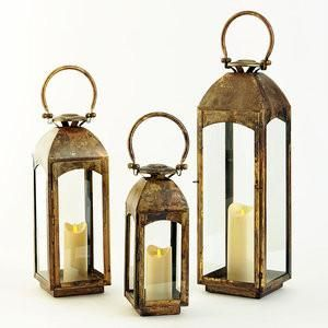 Delight your deck with this stainless steel 304 Marine grade indoor/Outdoor lantern. Use one, two or three stimulation candles inside. Great for parties or just