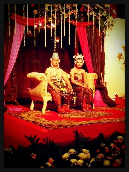 Traditional Javanese wedding, indonesia