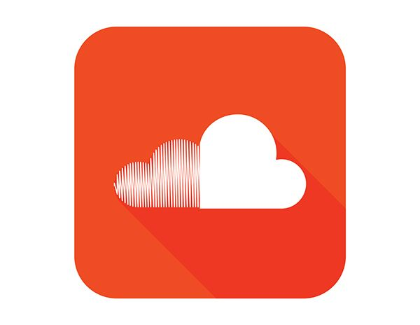 flat soundcloud logo design on Behance Good Design