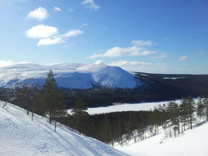 View from Devil's Gully, Ylläs