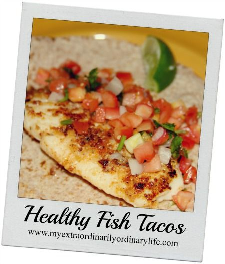133 best images about dinner recipies on pinterest for Healthy fish tacos