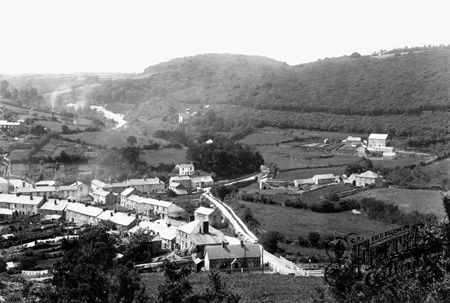 historical view of St Blazey