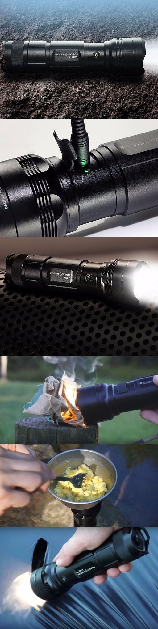 World's Strongest 2400 Lumen Wicked Laser Flash Torch Mini EDC Survival Tactical Flashlight