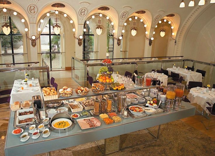 Continental Breakfast -ammounts for 35 can be found here