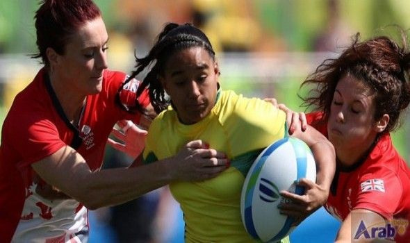 Results of rugby sevens women's pool round…