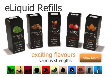 MagniFeciG.Co.uk For Premier E-Cigs - Magnifecig is considered to be 'the' place for getting exclusive and premier electronic cigarettes as well as e-liquids. People differ in their taste.