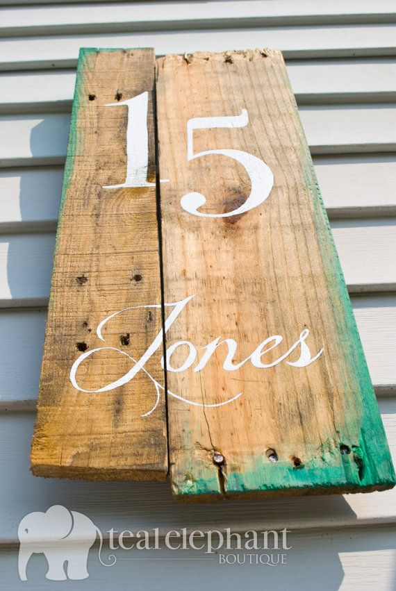23 Best Images About House Sign On Pinterest Address