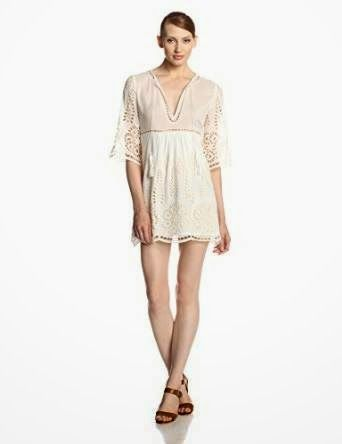 white shift dress: White Eyelet Shift Dress