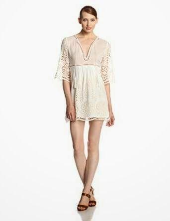 white shift dress: White Eyelet Shift Dress