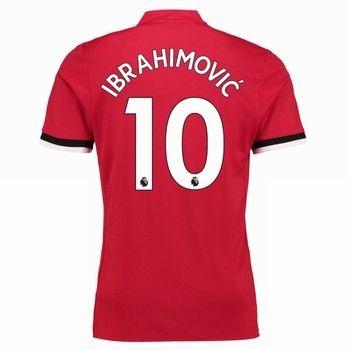 Fotbollströjor Manchester United 2017-18 Zlatan Ibrahimovic 10 Hemmatröja