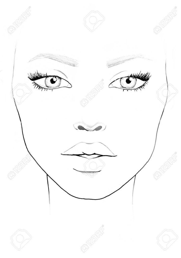 Пин от пользователя HLN BUD на доске face chart в 2020 г