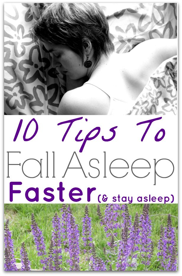 10 Tips To Fall Asleep Faster (and stay that way) - http://www.savingeveryday.net/?p=99919