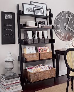 pottery barn bookshelves | Pottery Barn Ladder Shelf | Flickr - Photo Sharing!