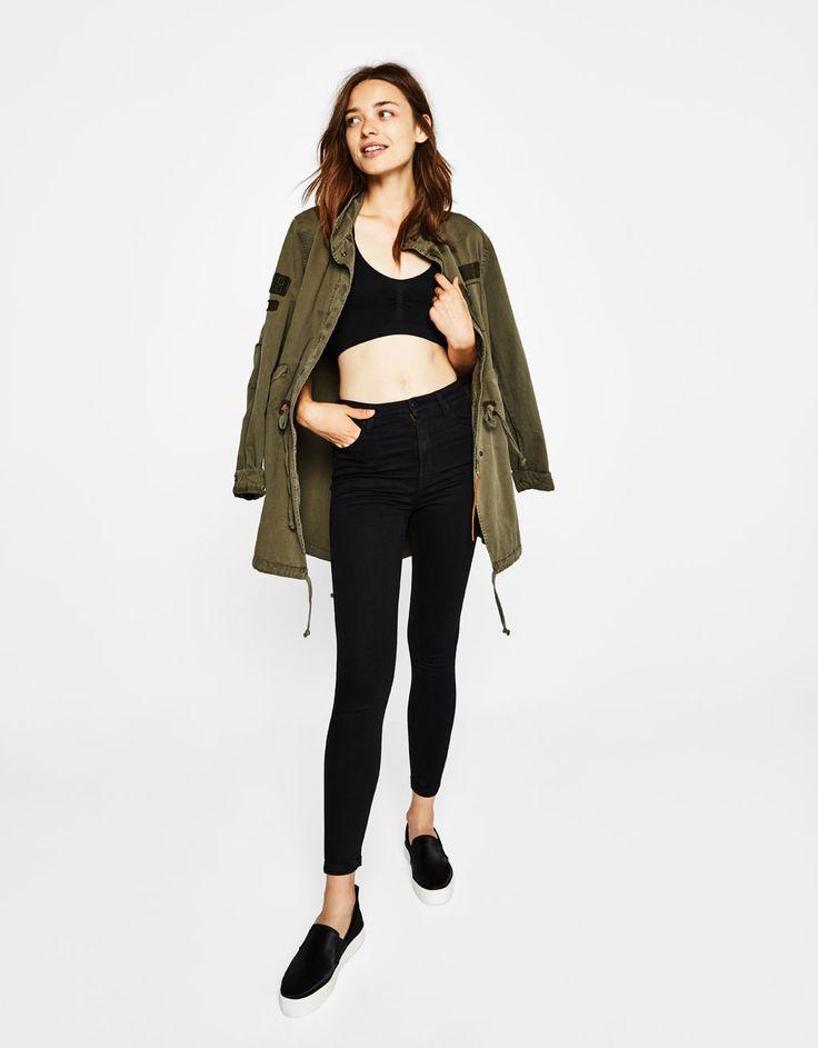 Bershka Colombia - Jeans  skinny high waist
