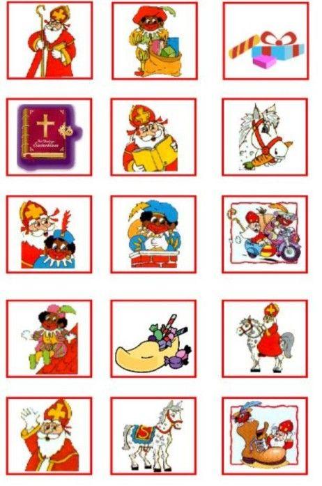 Sinterklaas memory - 1