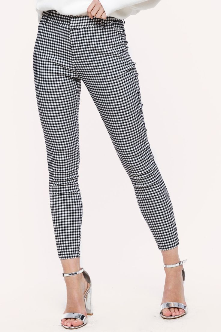 Checkered trousers   Fashion Webshop LOAVIES