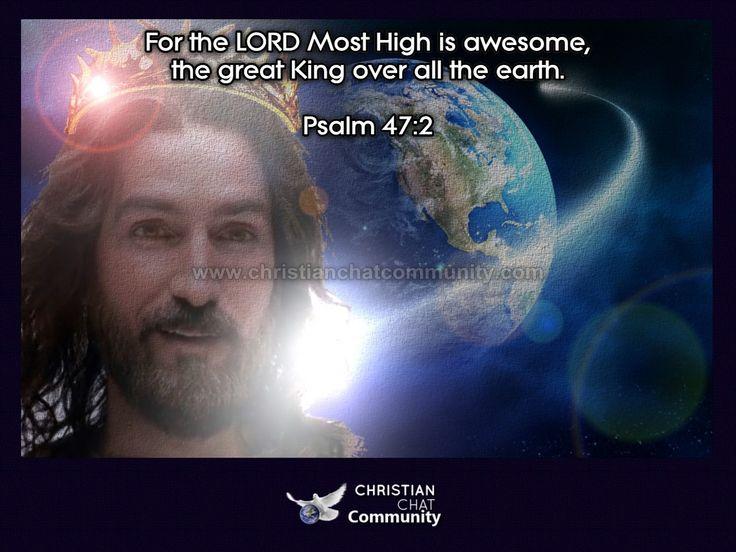 Psalm 47:2 - Christian Chat Community