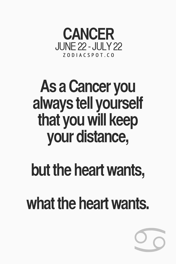 Cancer Sign Quotes Literary Quotes About July 14 Zodiac Personality Picture