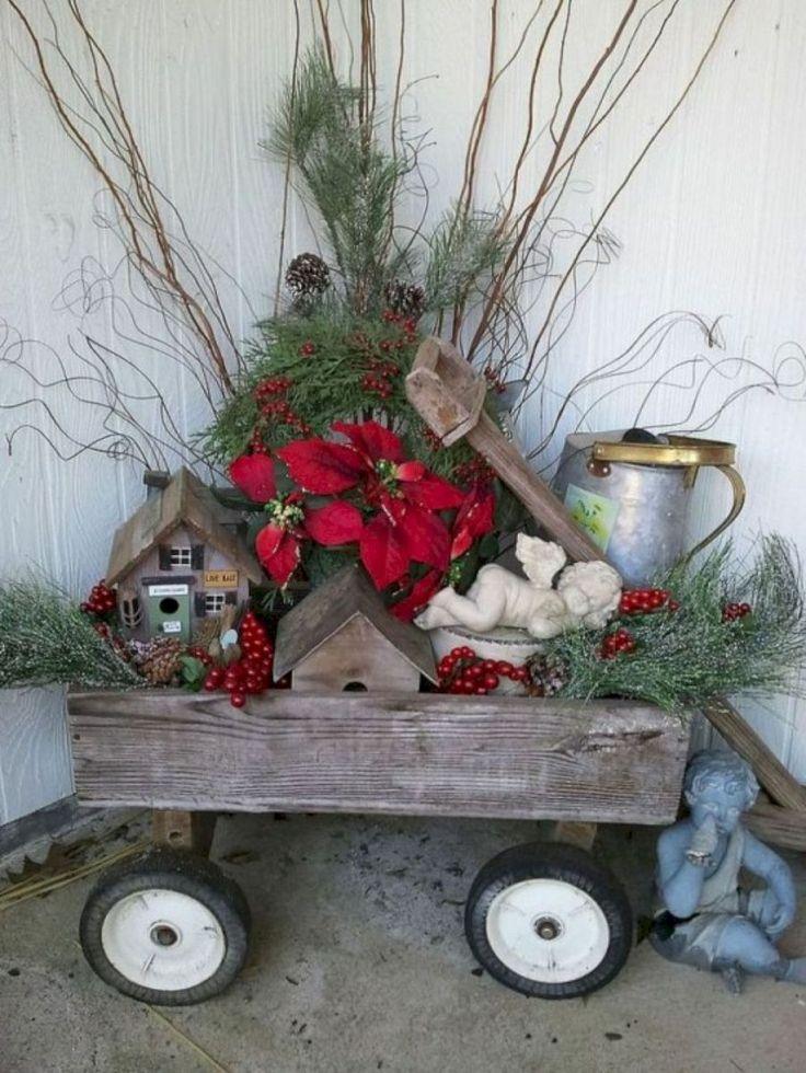 36 Awesome Outdoor Christmas Decor Ideas