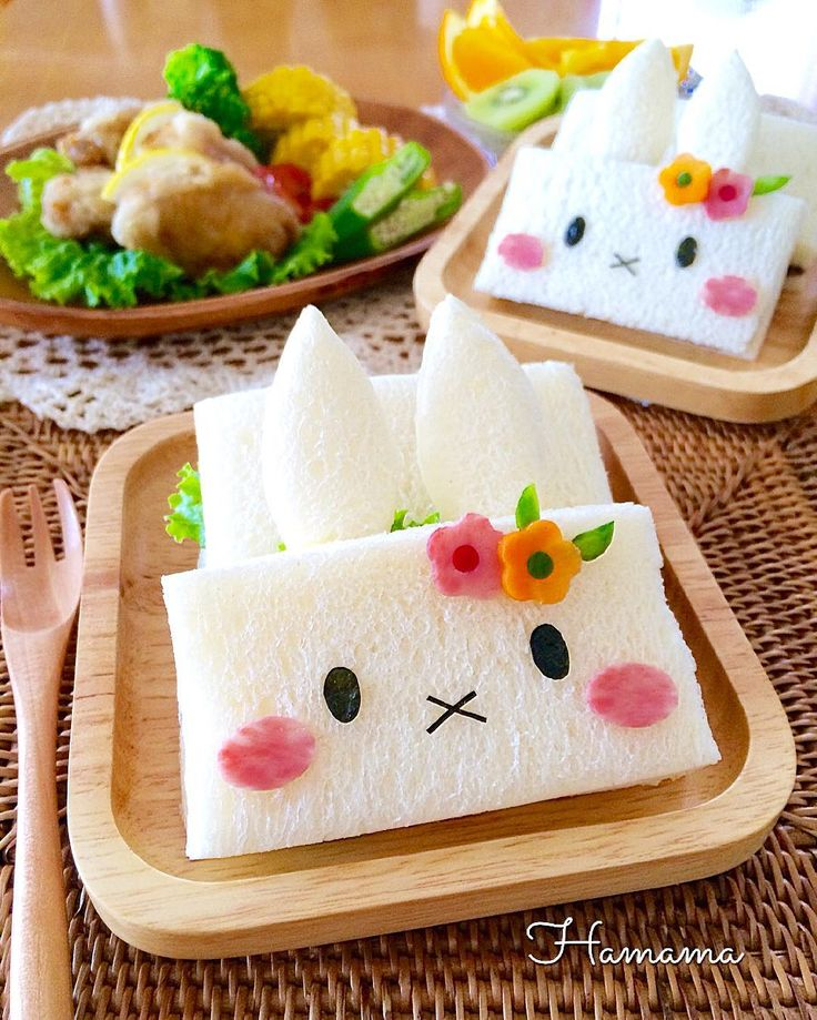 Miffy sandwiches by @hamama_126