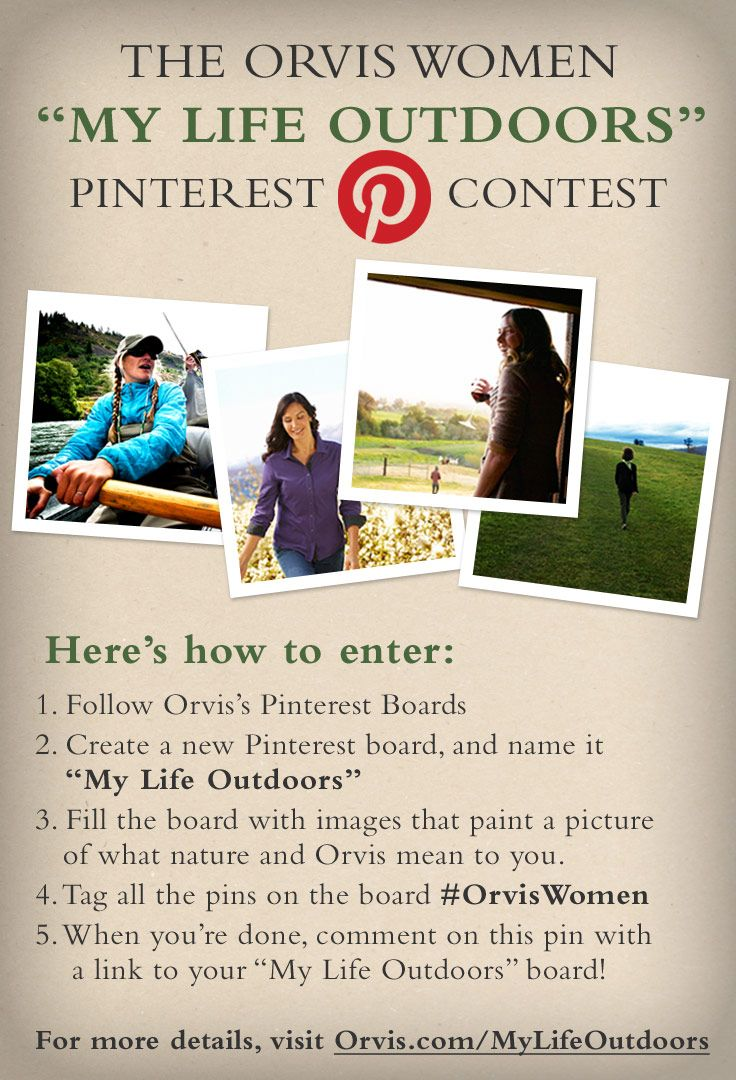 Visit http://www.orvis.com/mylifeoutdoors for details  #contest #pinittowinit:  Internet Site,  Website, Web Site