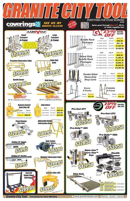 Coverings and May Flyer! Lifters, Wheels and so much more!