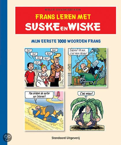 Frans Leren Met Suske En Wiske